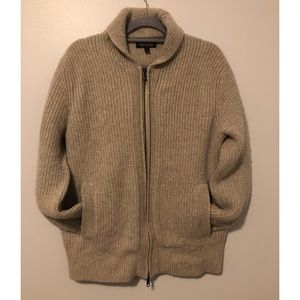 Banana Republic Merino Wool Full Zip Cardigan